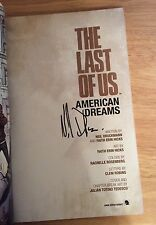 SIGNED - The Last Of Us American Dreams Neil Druckmann Faith  SC 1/1 GN + PIC