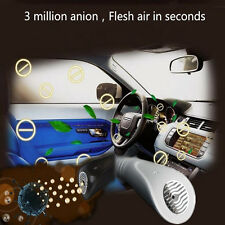 Auto Car Fresh Air Purifier Ionizer Oxygen Anion Ozone Bar Remove Smoke Methanal