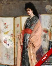 LA PRINCESS JAPANESE ASIAN LOOK WHISTLER FINE ART REAL CANVAS GICLEE 8X10 PRINT