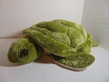 "Wishpets Jolene Sea Turtle Green Cream Soft Plush 15"" Toy Stuffed Animal"