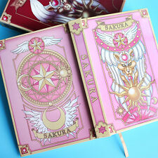 Anime Card Captor Sakura Figure Cosplay Magic Notebook Diary book Clow New PINK