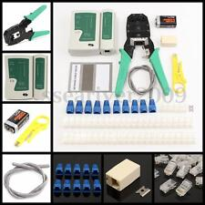 66PCs RJ45 Cat5e Cat6 Network LAN Kit Cable Tester Crimper Crimping Tool Set