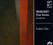 FREDERIC  PIANO CHIU - Prokofiev: Complete Piano Sonatas CD Like New / Mint RARE