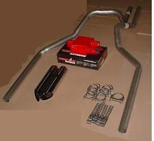 GM/GMC Silverado/Sierra 07-13 Dual Exhaust Kit + Cherry Bomb Extreme + Tips