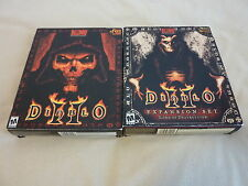 NEW Big Box Diablo II 2 + Expansion Set: Lord of Destruction (Blizzard PC game)!