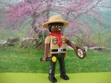 PLAYMOBIL LOT 55 BOY SCOUT SCOUTISME JAMBOREE AVENTURE NATURE CAMP BADEN POWELL