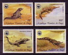 Kongo Michelnummer 1063 - 1066 postfrisch  (WWF)