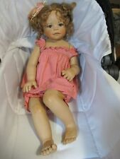 Monika Levenig Butterfly Whispers Doll Pink Clothing Porcelain 52/400 EUC