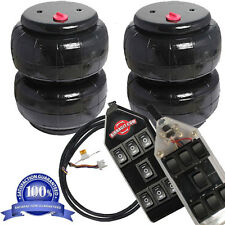 """AirRide Suspension  2 AirBags Standard 2500-II 1/2""""npt Kit/7-Switch Controller"""