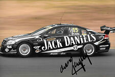 Rick Kelly SIGNED 12x8,Jack Daniels Kelly Racing Holden Commodore  2012