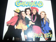 Girlfriend Girl's Life Australian Digipak CD Single