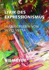 Lyrik Des Expressionismus (Deutsche Texte) (German Edition)