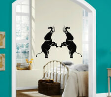 Wall Stickers Vinyl Decal Elephants India Africa Circus Animals ig170
