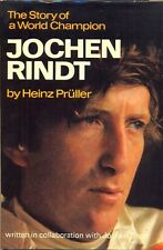 Jochen Rindt, the Story of a World Champion by Pruller - excellent 1970 biog