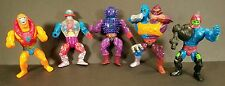 Vintage 1980s Mattel MOTU He-Man Lot of 5 unique Action Figures