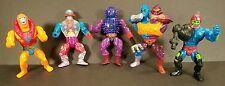 Vintage 1980s MOTU He-Man Lot Action Figures collectible bundle toys