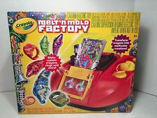 Crayola Melt n Mold Factory Crayons Maker Toy Kids Recycle into new color design