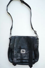 Authentic Proenza Schouler Black PS1 Bag Pouch Mini Small Crossbody $1325