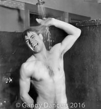 Vintage Photo. Nude Hunk Showers. Gay Int. GD-346