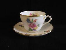 Hutschenreuther Rose Demi Tasse Coffee Cup & Saucer