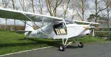 Just Escapade Two Seat Ultralight Aircraft Wood Model Big New
