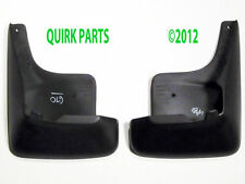 2000-2005 Chevrolet Impala GMC Savana Front Molded Splash Guards Black