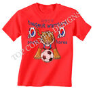 South Korea Football Mascot World Cup Brazil Boys/Girls T-Shirt Childrens T237