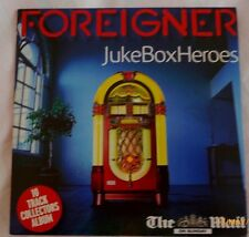 Foreigner Juke Box Heroes CD The Mail Issue Classic song compilation played live