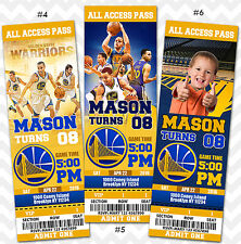 Golden State Warriors Invitations, Team, Basketball, Pack of 24 Invitations