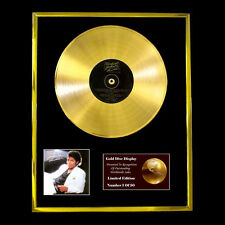 MICHAEL JACKSON THRILLER  CD  GOLD DISC VINYL LP FREE SHIPPING TO U.K.