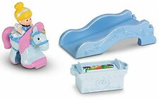 Fisher-Price Little People Disney Klip Klop Cinderella Girls 18 mos. + New 2013