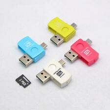 2-in-1 Micro USB2.0 OTG Adapter + Micro SD TF Card Reader for Android Phone Hot