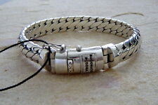 Buddha to Buda pulsera ben Ladies & Men unisex 925 Sterling Silver