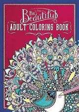 The Big Beautiful Adult Coloring Book (2016, Paperback)