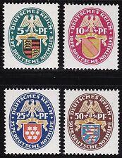 1926 Germania/Deutsches Reich, n° 390/393   4 valori  MNH/**