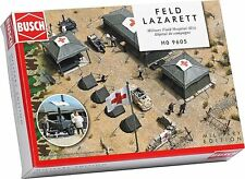 "LOT 12653 | Busch HO 9605 ""Feldlazarett"" Military Field Hospital Bausatz NEU OVP"