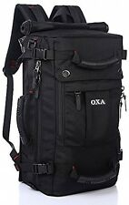 Mens Large Classic Backpack Rucksack Messenger Bag Duffel Gym Bags Satchel NEW
