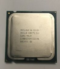 Intel Core2 Duo Dual Core E8400 3.00 GHz 1333 MHz FSB CPU Processor SLB9J LGA775