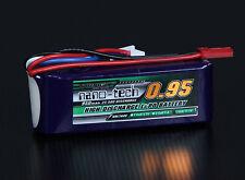 New Turnigy nano-tech 950mAh 3S 25C-50C Battery Lipo Battery Pack JST US