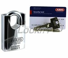 ABUS 83CS/55 padlock with VITESS High Security Cylinder Made in Germany