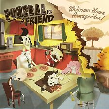 FUNERAL FOR A FRIEND - WELCOME HOME ARMAGEDDON CD ALBUM (2011)