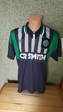Celtic Glasgow 1994/95 Trikot Jersey L CR Smith Away Home Umbro Shirt black 3rd