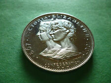 1867-1967 Queen Victoria & Elizabeth II **Silver Colour** Medallion,