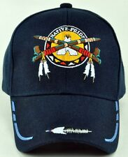 NEW! NATIVE PRIDE PEACE PIPES CAP HAT NAVY