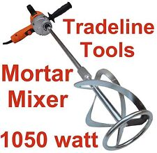 NEW MORTAR MIXER - CEMENT RENDER PAINT PLASTER CONCRETE - VARIABLE SPEED