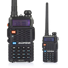 2 Pack Baofeng BF-F8+ VHF/UHF 136-174/400-520MHz Two-way Ham Radio Black