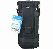 Deluxe Lens Case Pouch Bag for Tamron Sigma 150-500mm 150-600mm Tele Lens Black