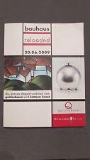 Catalogue de la vente Bauhaus Reloaded Quittenbaum Ketterer Kunst 20 Jun 2009