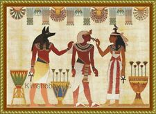 EGYPT IS A 14ct CROSS STITCH CHART WITH OR WITHOUT BACK GROUND FOR  DMC THREAD