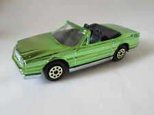 Majorette Green Mirror Finish Cadillac Allante Car #253 Ech 1:59 France (Mint)